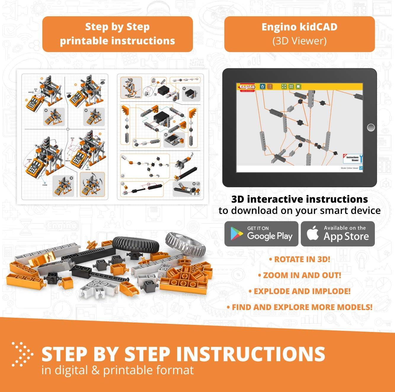 Engino Education- 1 (E30): Amazon.es: Juguetes y juegos