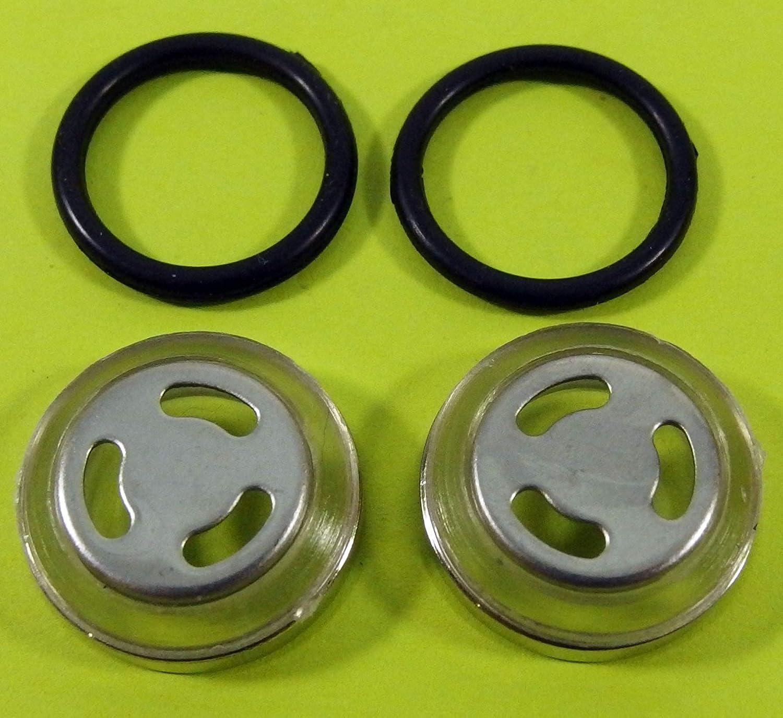 2x Schauglas Ø 18 Mm Reparaturkit Bremsflüssigkeitsbehälter Motorrad Quad Atv Auto