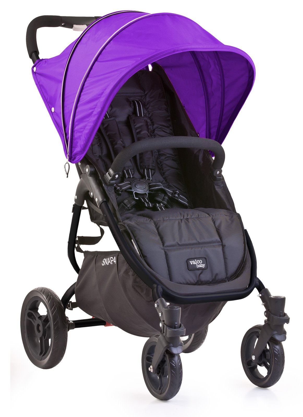 Valco Baby Snap & Snap4 Vogue Set (Hood, Harness Covers) (Deep Purple (no bootie))