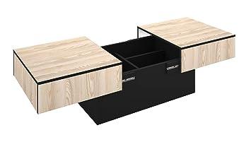 Table Basse Rangement Bar.Berlioz Creations Table Basse Coffre De Rangement Bar