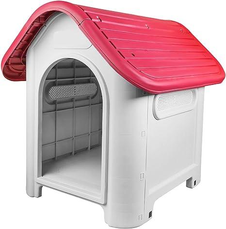 RayGar® - Caseta de plástico para perro o gato resistente a la ...