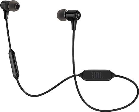 JBL E25BT In Ear Bluetooth Kopfhörer Kabelloser Ohrhörer mit 3 Tasten Fernbedienung und Mikrofon Wireless Headphones für bis zu 8 Stunden Musik