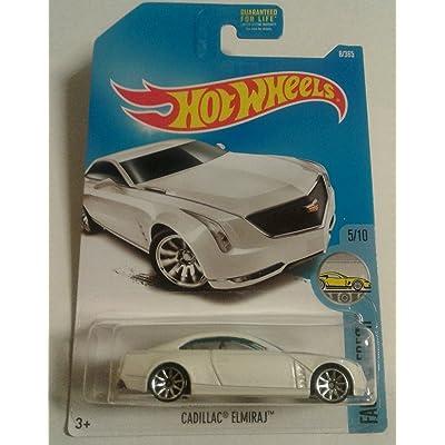 Hot Wheels 2020 Factory Fresh Cadillac Elmiraj 8/365, White: Toys & Games