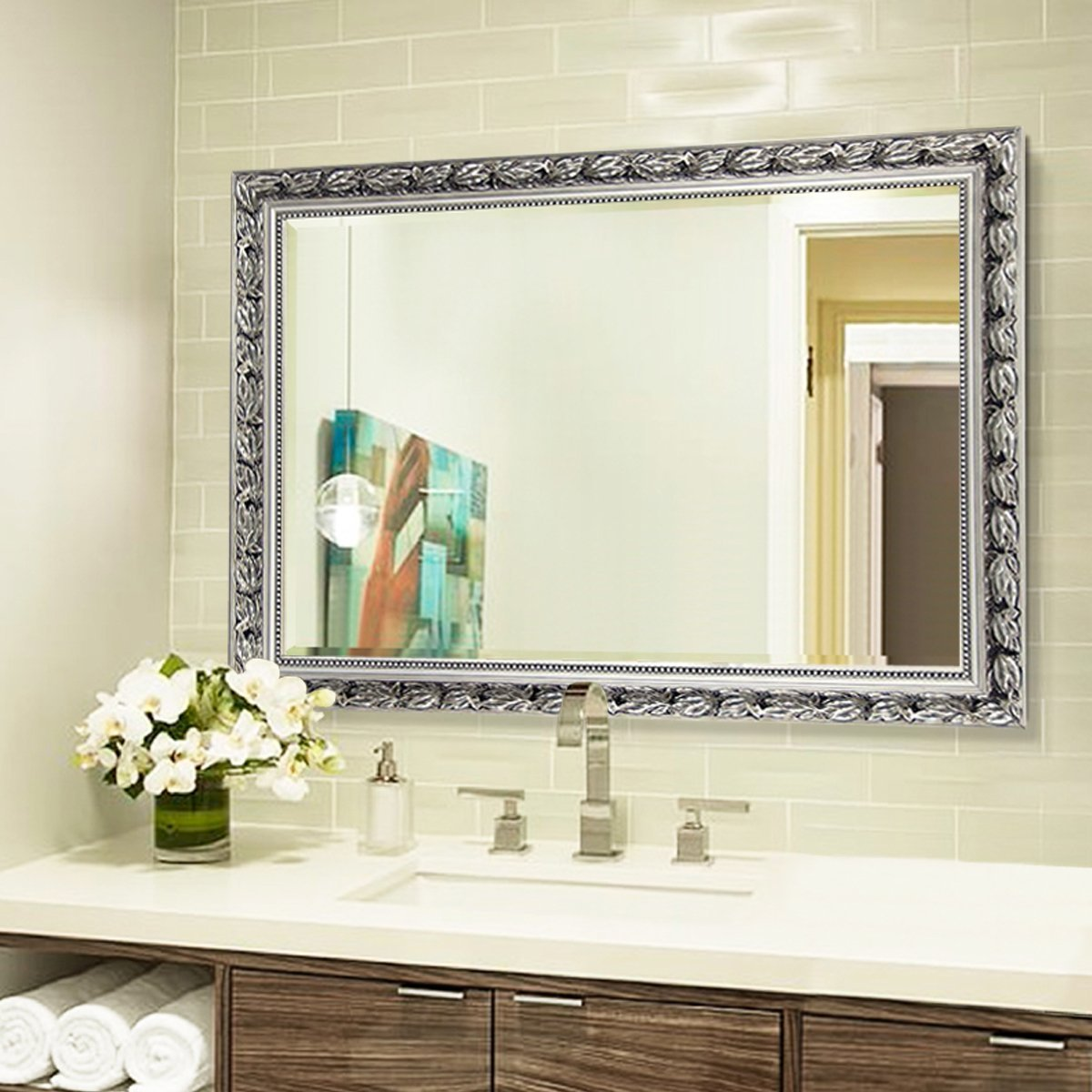 Vanity Bathroom Mirrors for Wall (32''x24'')