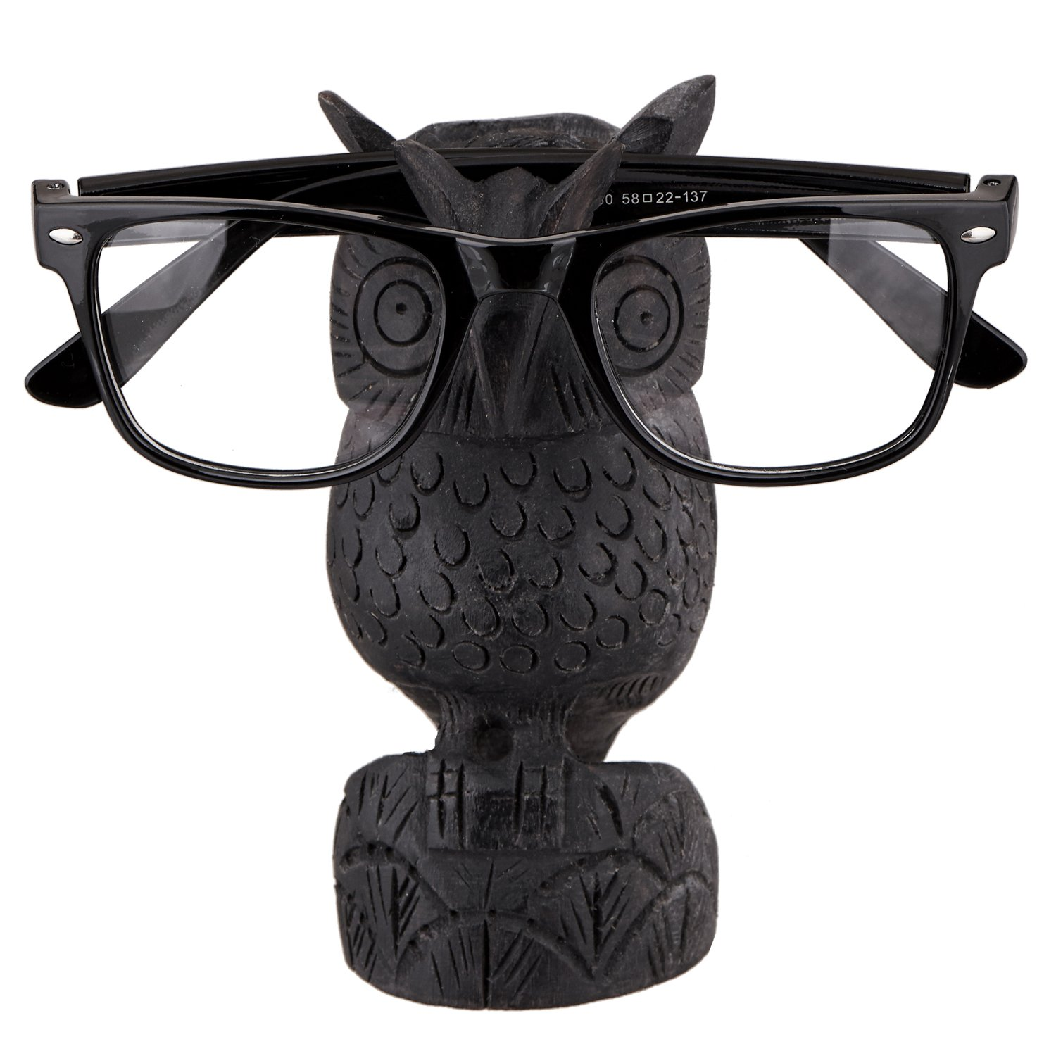 12c1a84fdc44 Amazon.com  Spectacle Holder Wooden Eyeglass Stand Handmade Display Home  and Office Decor Accessories A Perfect Gift for Him or Her (Owl 1)  Home    Kitchen