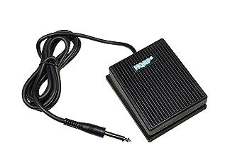 HQRP Pedal de sostenido estilo interruptor de pie para Yamaha YPT-200, YPT-210, PSR-E244, PSR-E313 Teclado: Amazon.es: Electrónica