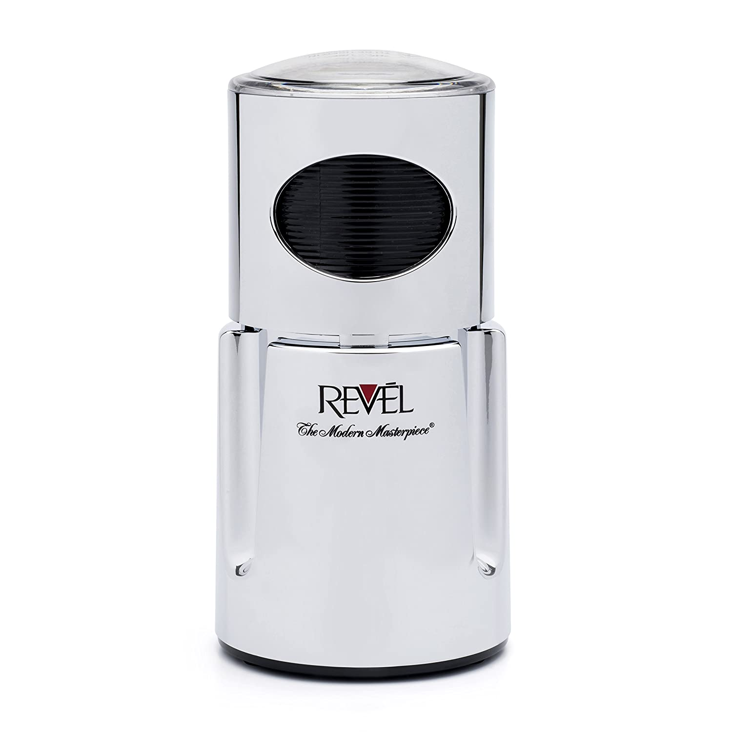 Revel CCM104CH Chrome Wet and Dry Coffee Spice Grinder, 220 Volts (Not for USA - European Cord) Gandhi - Appliances
