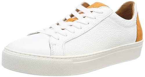 Selected Femme Sfdonna Contrast Sneaker, Zapatillas para Mujer, Dorado (Gold Colour), 37 EU Selected