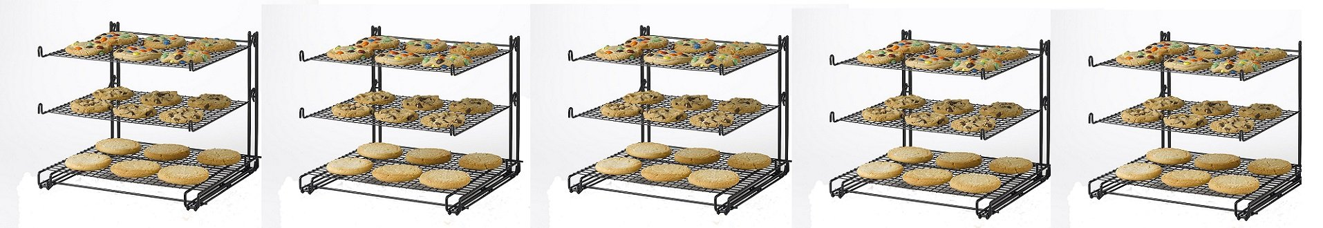 Betty Crocker 3-tier Cooling Rack (5-Rack's)
