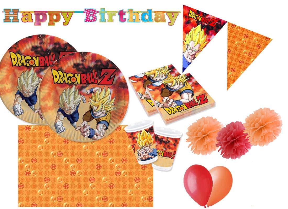 Giocoplast Dragon Ball Z Coordinato Compleanno Kit 46f