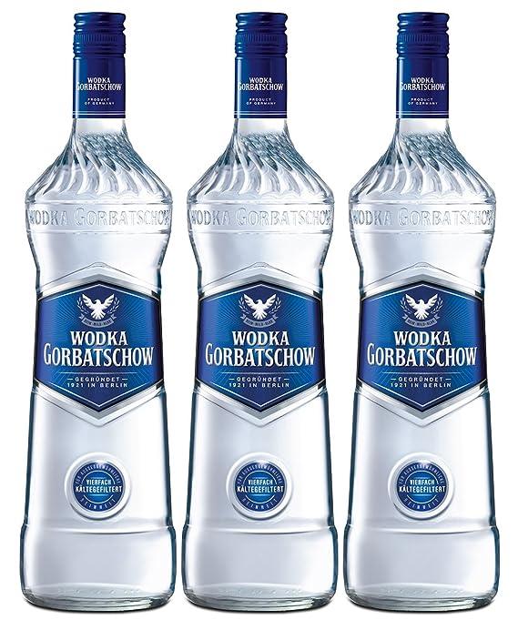 Gorbatschow Wodka 37,5% Vol. (3 x 0.7 l): Amazon.de: Bier, Wein ...