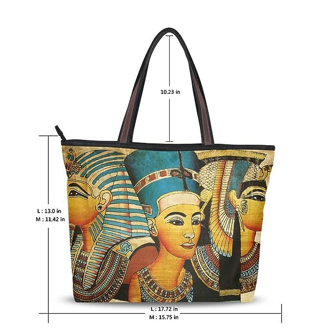 90f6375ed11d DEYYA Women Large Tote Bag Vintage Ancient Egyptian Shoulder Handbags  Satchel Messenger Bags for Ladies