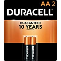 Duracell - CopperTop AA Alkaline Batteries - long lasting, all-purpose Double A battery for household and business - 2…