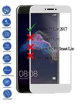 Todotumovil Protector de Pantalla Huawei P8 Lite 2017 Blanco ...