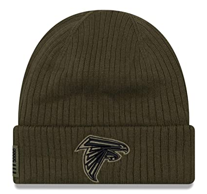 huge discount 09742 845aa New Era 2018 Mens Salute to Service Knit Hat (Atlanta Falcons)