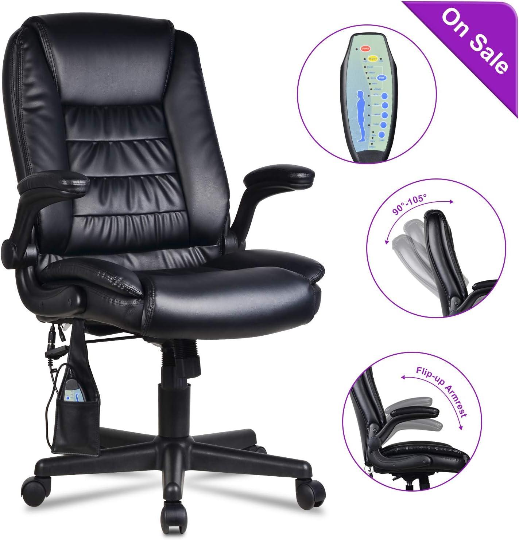 Schreibtischstuhl mit Massagefunktion