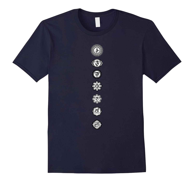 Chakra Alignment Balanced Meditation Shirt - Yoga Clothing-TH