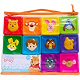 Winnie-The-Pooh Soft Blocks -Building Blocks for Toddlers – Educational Baby Toys 12 Months & Up with Numbers, Shapes…