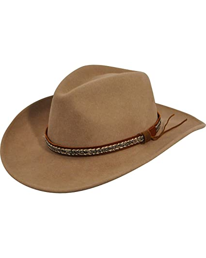 8257b920971 Amazon.com  Bailey Western Men Wind River By Bailey Nock Western Hat   Clothing