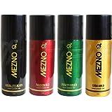 Mezno Body Spray Best Deodorant For Men - Deo Combo of 4 - 150ml each
