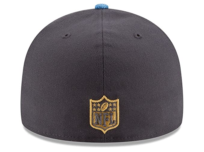 ee15a63a6 Amazon.com   New Era NFL Hat San Diego Chargers on Field Gold Collection  Football Black with Gold Cap (7 1 8)   Sports   Outdoors