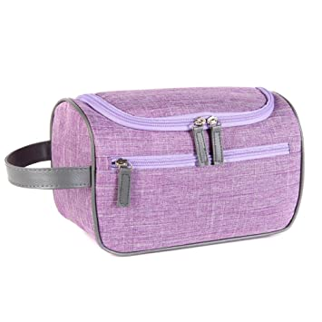 3063c7da32 Amazon.com   LtrottedJ Women Beauty Travel Cosmetic Bag Girl Fashion  Multifunction Makeup Pouch (B)   Beauty