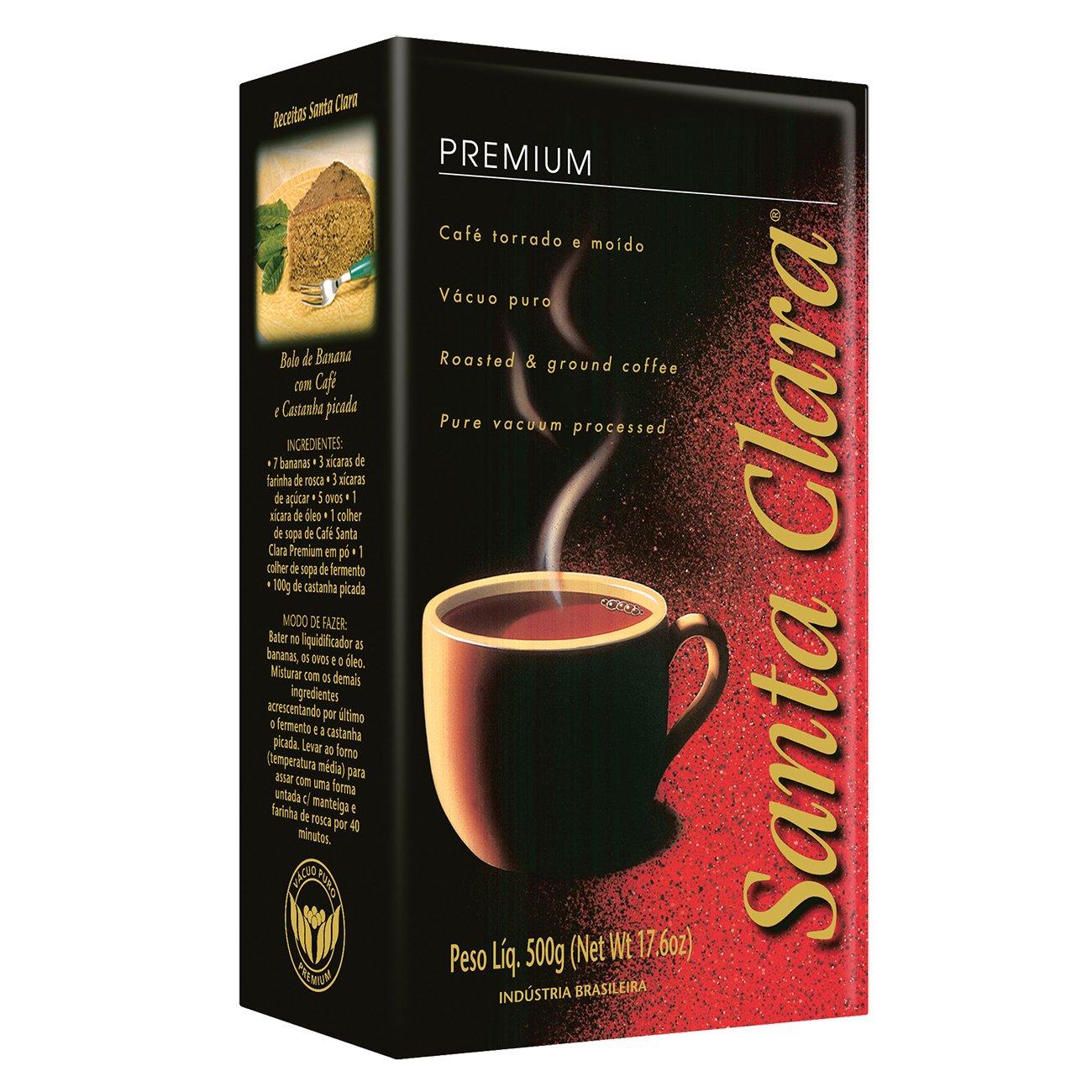 Amazon.com: Santa Clara Classico Brazilian Coffee, Ground 500 Grams (Pack of 1): Office Products