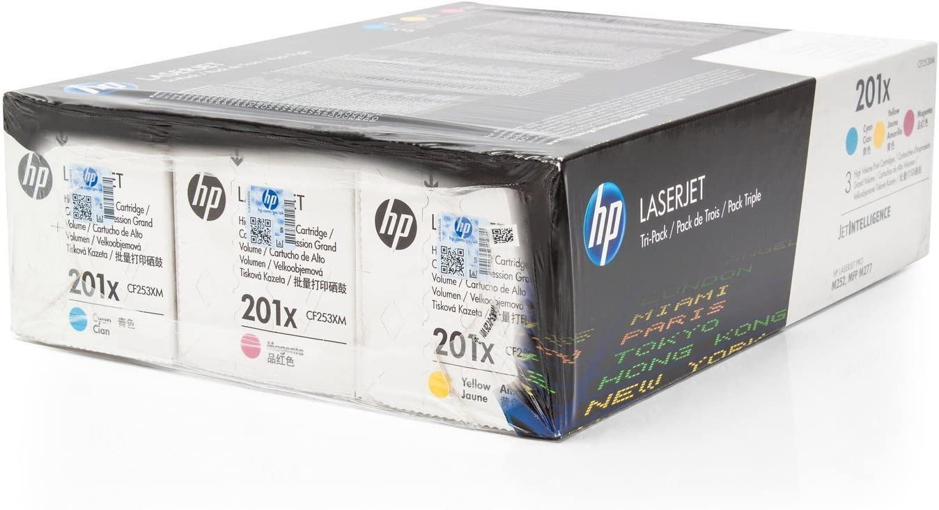 Cartucho original para HP Color LaserJet Pro M 270 Series HP 201 x ...