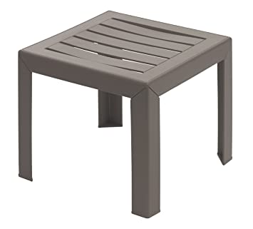 GROSFILLEX Miami Table, Taupe, 40 x 40 cm: Amazon.fr: Jardin