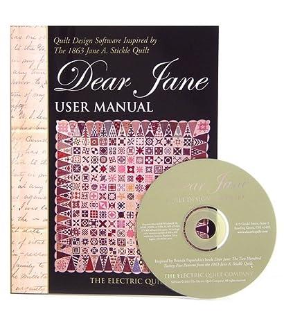 Amazon.com: Electric Quilt(R) Company's Dear Jane Quilt Design ... : quilt design software reviews - Adamdwight.com