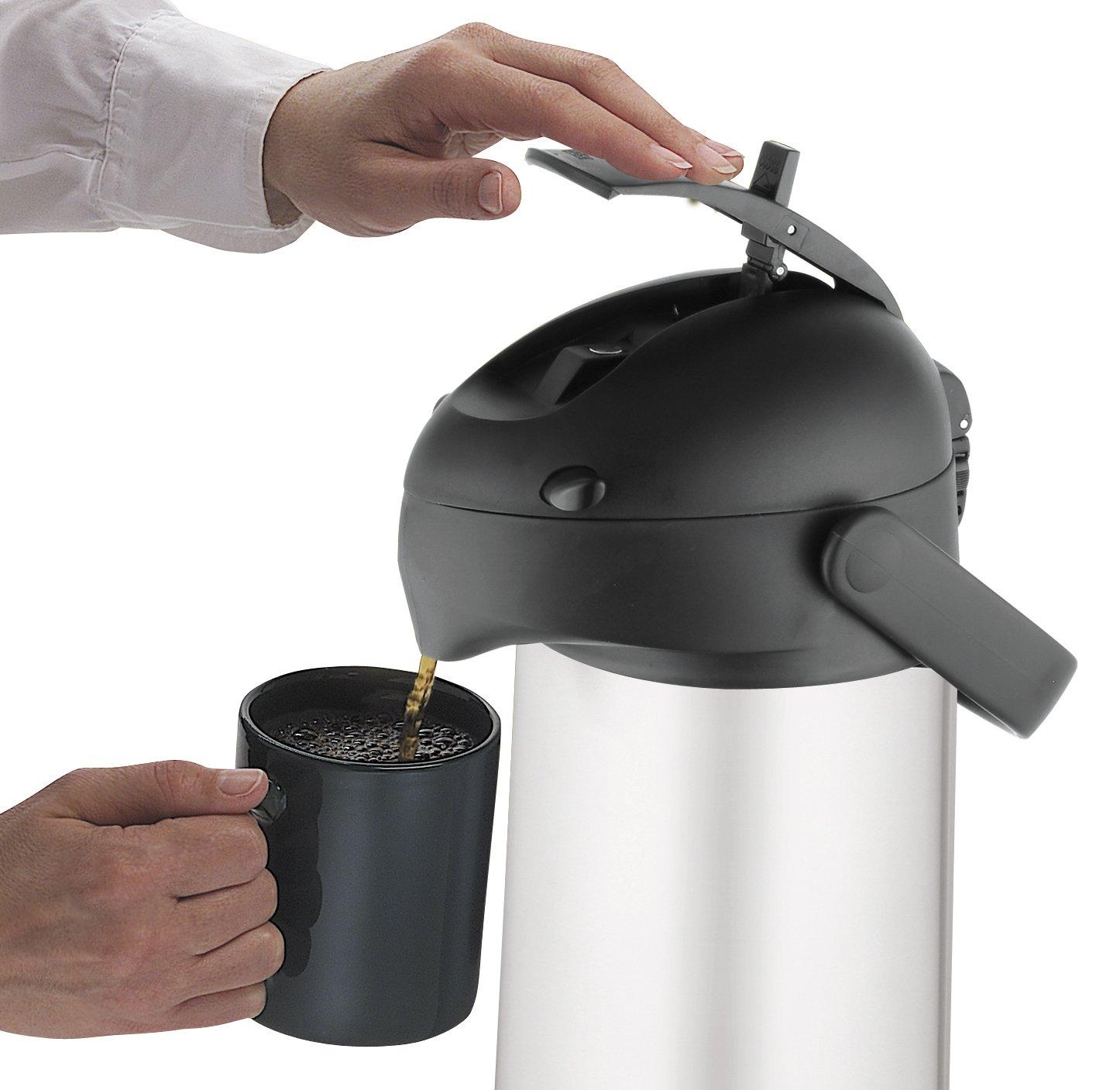 Thermos Lever Action Pump Pot, 2.5 L: Amazon.co.uk: Kitchen & Home