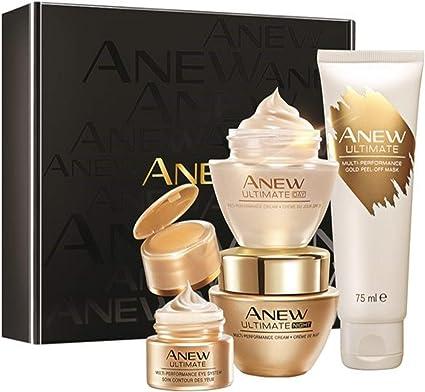 Estuche Avon Anew Ultimate Tratamiento Completo Antiedad 45 a 55 años 4 productos: Amazon.es: Belleza