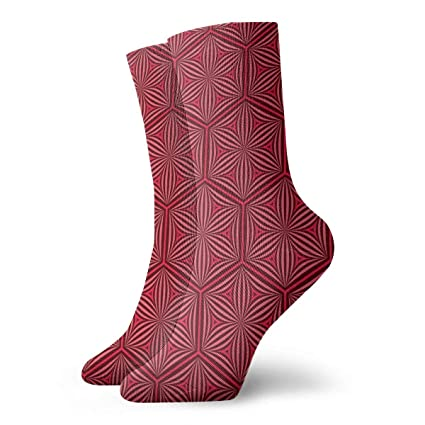 611d263a60108 Amazon.com: TAOMAP89 Flower of Life Pattern Compression Ankle Socks ...