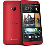 HTC One M7 Red 32gb 4g LTE Android phone Unlocked