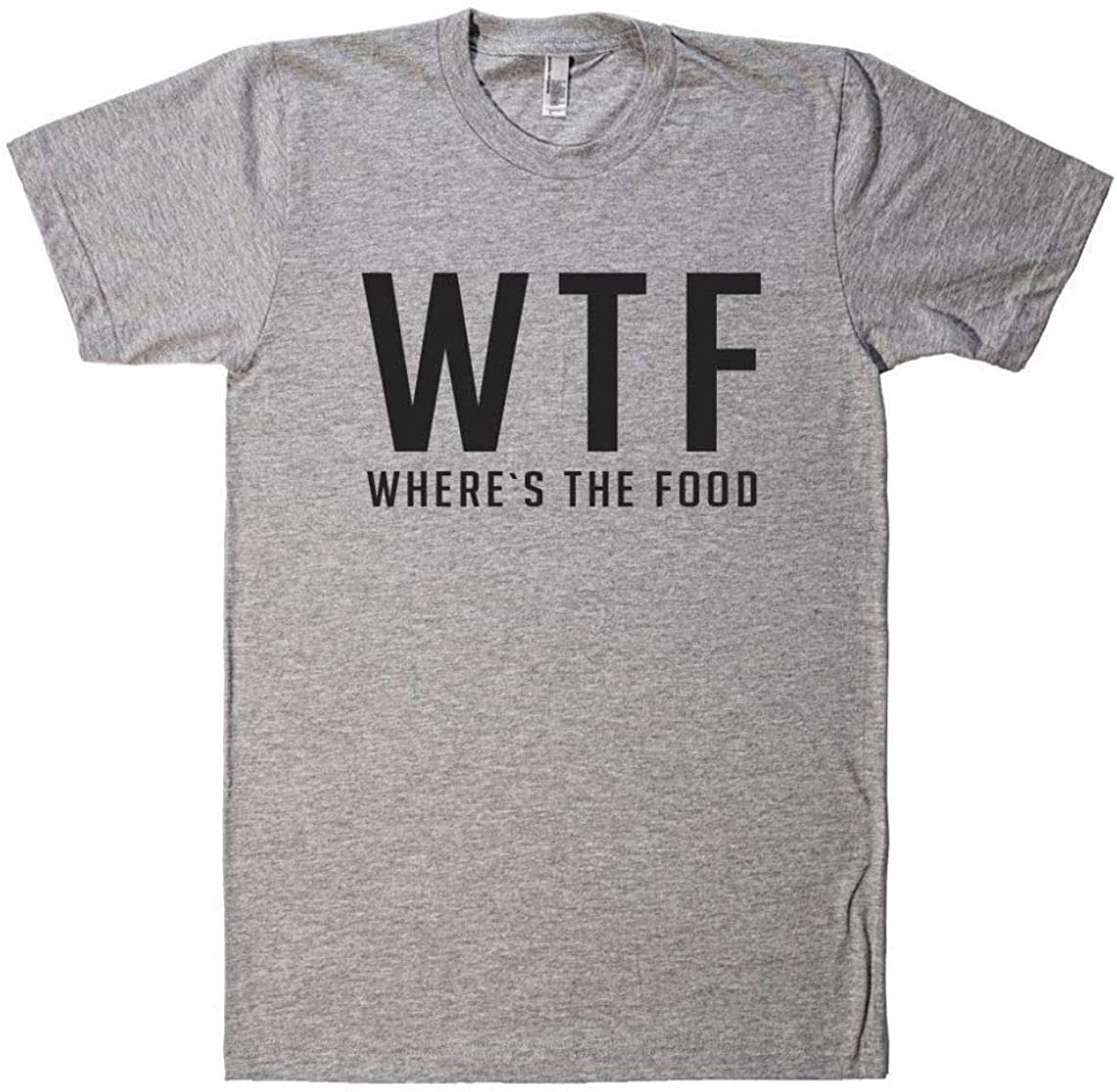 Teeone Limited WTF Where`s The Food t Shirt