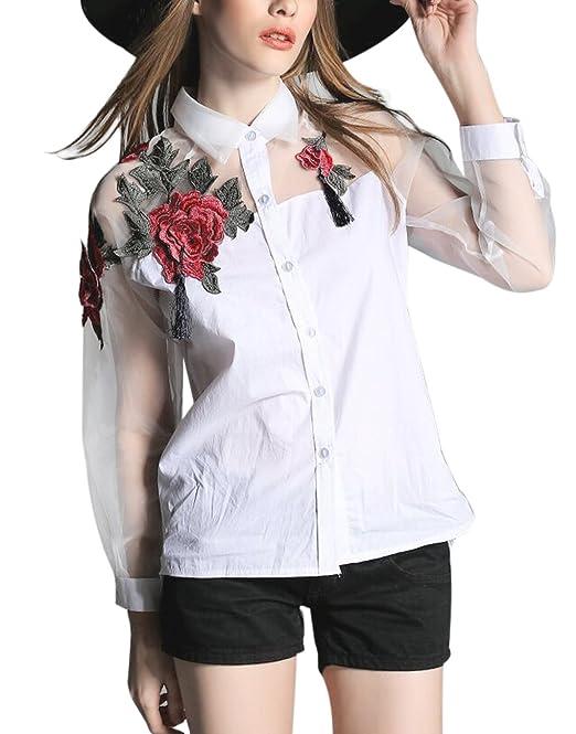 FakeFace Top-Camiseta para hombre, diseño elegante-Blusa para mujer, manga larga