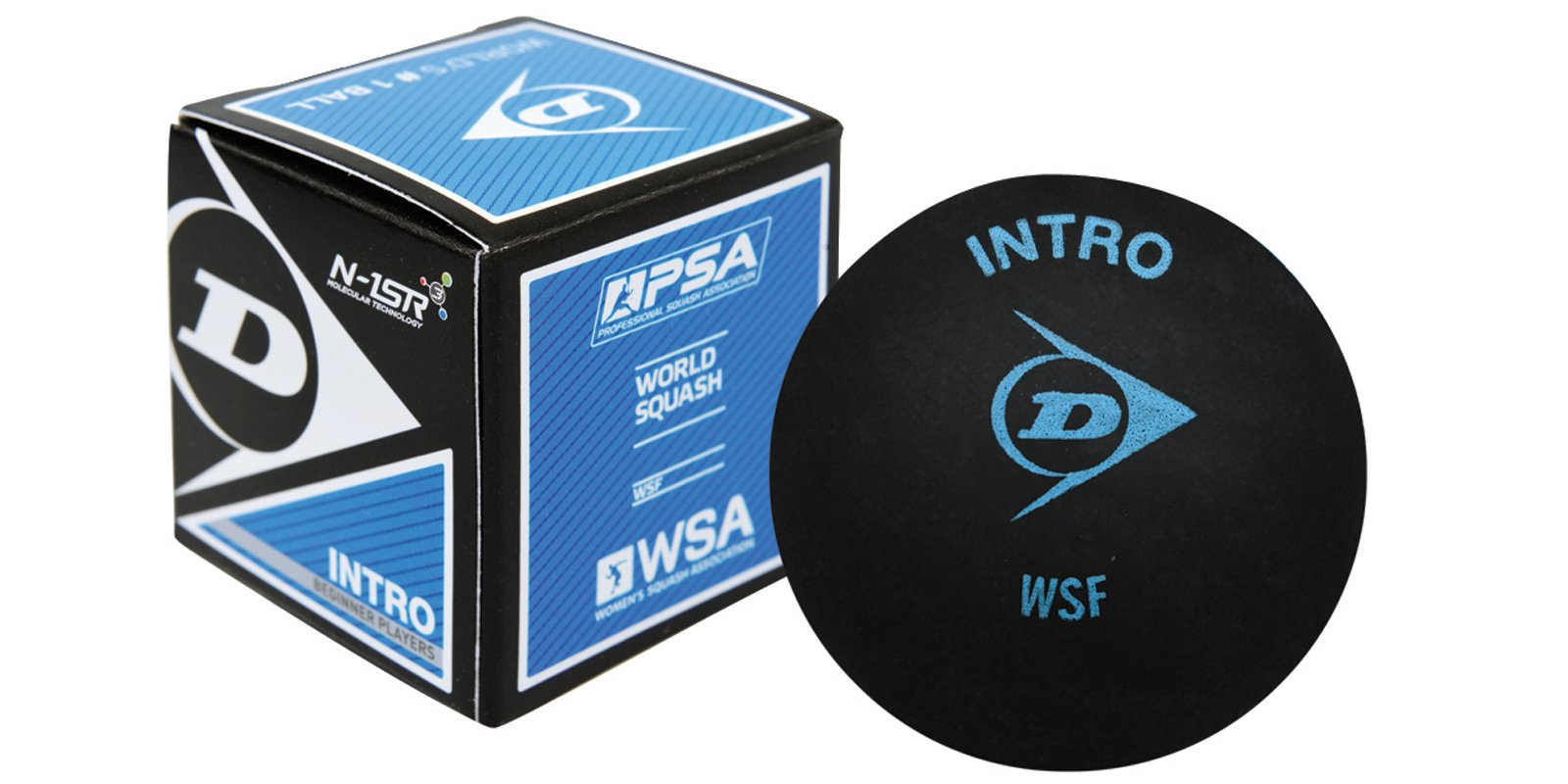 Dunlop Intro Beginner Squash Ball-single ball product image