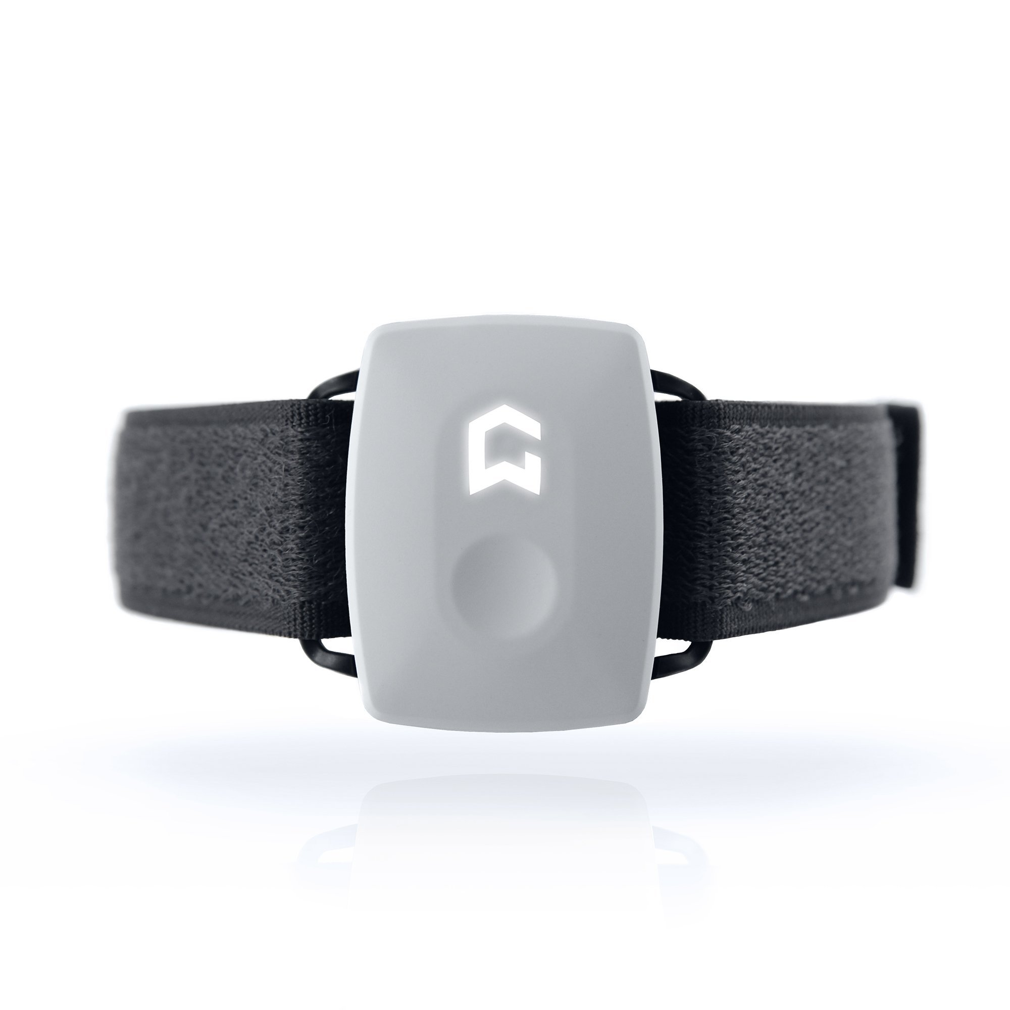 Ultimate Fitness Exercise Tracker Watch That Monitors All Workout and Sports Activity - by GYMWATCH® (Cool White)