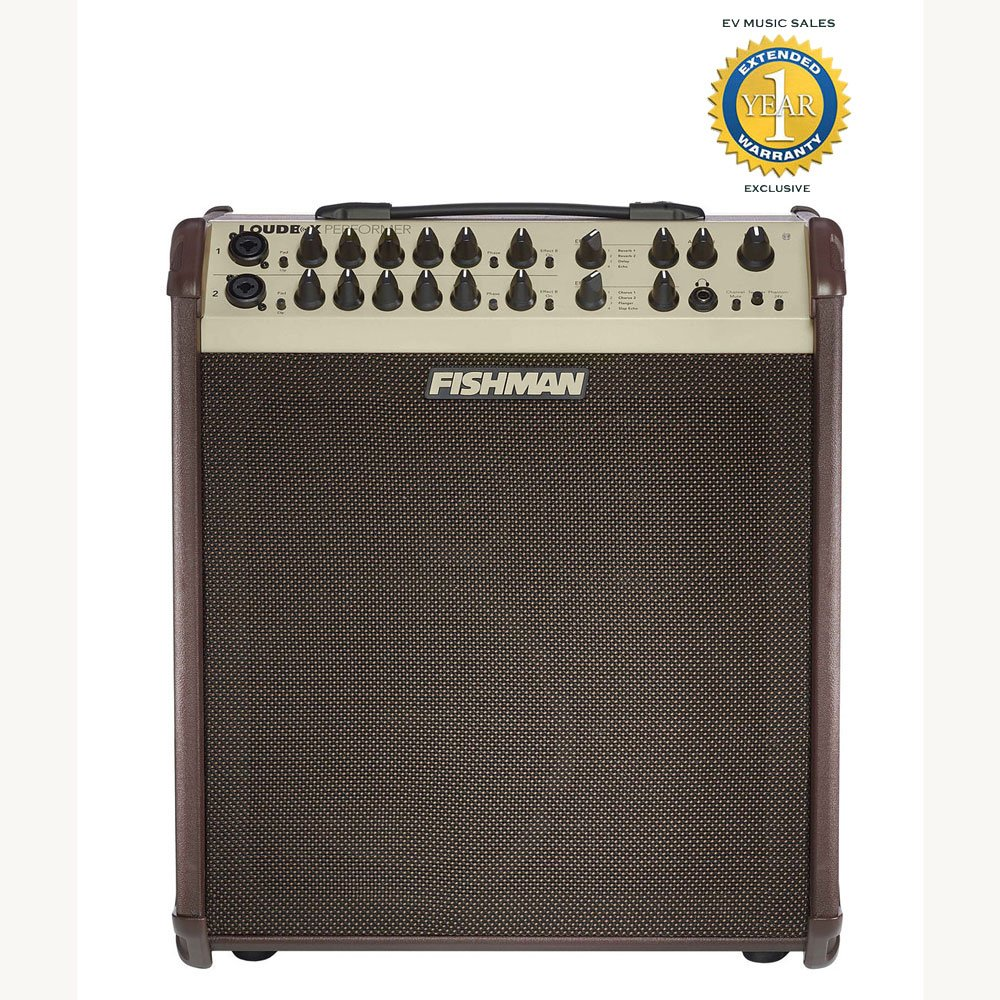 Fishman Loudbox Performer 180W Acoustic Combo Amplifier with 1 Year Free Extended Warranty