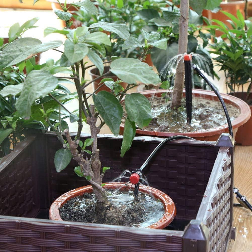 CfMdNb 1M-50M Watering Hose 4/7Mm Pvc Micro Drip Irrigation Tube Plants Flower Sprinkler Pipe Greenhouse Irrigating 50m