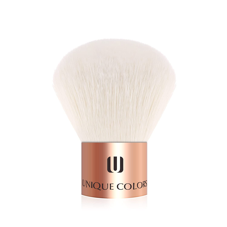 UNIQUE COLORS 1PCS Kabuki Brush For Foundation Blending Blush Buffing Makeup Brushes Cosmetics Power Face Soft Face Makeup Tools