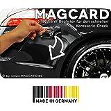 Aimant mAGCARD carte vernie spatule carrosserie inspecteur couches de 1 testeur