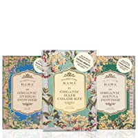 Kama Ayurveda Natural Organic Hair Coloring Kit, 200g (Pack of 2)