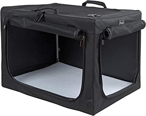 Petsfit-Travel-Pet-Home-Indoor/Outdoor-for-Dog-Steel-Frame-Home,Collapsible-Soft-Dog-Crate