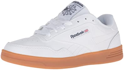 Reebok Men's Club Memt Gum Cup Fashion Sneaker, WhiteCollegiate NavyGum,