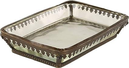 stile vintage MACOSA HOME Portasapone in metallo per bagno cucina saponetta