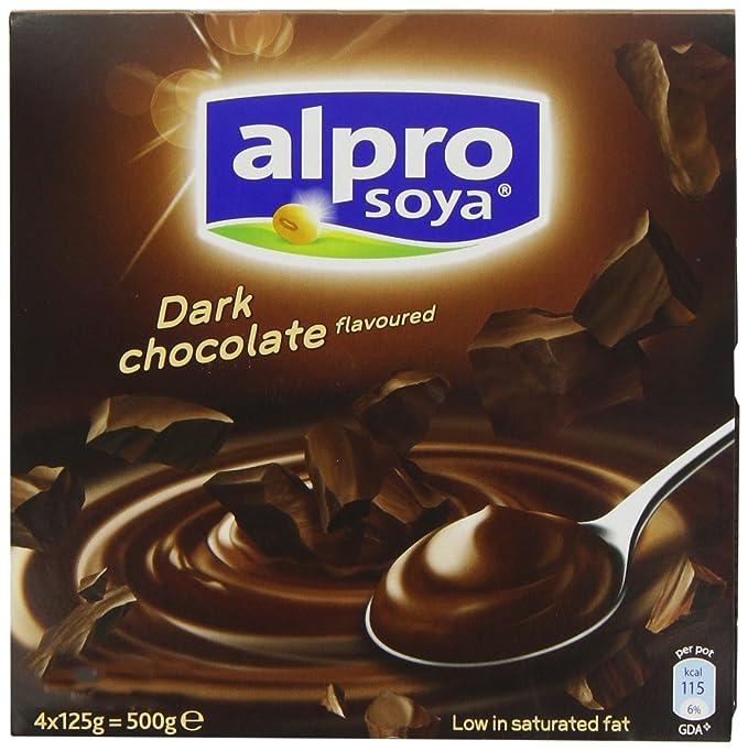 Alpro Dark Chocolate Dessert 4 x 125g (Case of 6)