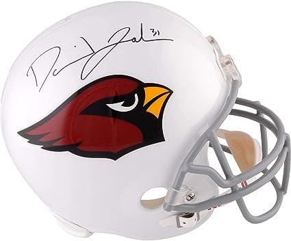 f2cfe214c5c David Johnson Arizona Cardinals Autographed Riddell Replica Helmet -  Fanatics Authentic Certified - Autographed NFL Helmets