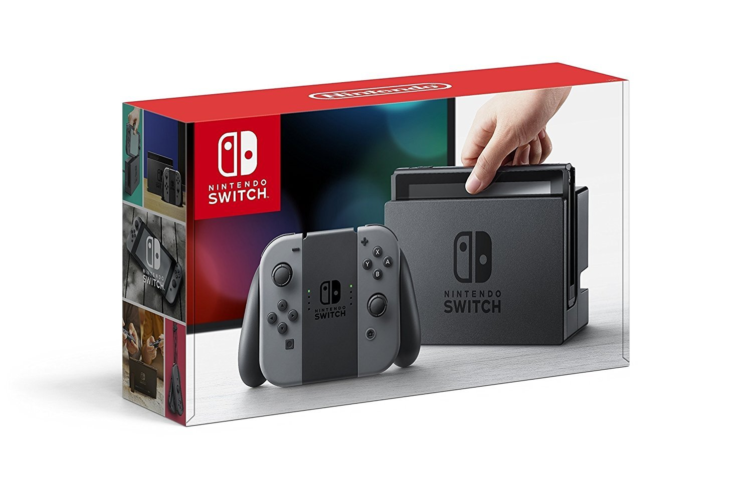 Nintendo Switch Consola Color Gris