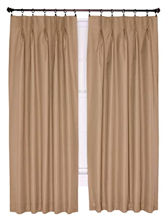 Amazon.com: Ellis Curtain Crosby Thermal Insulated 144 by 84-Inch ...